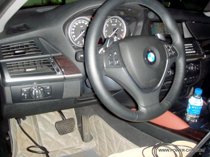 2009款宝马x6 4.4t 免拆刷ecu 提升动力
